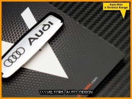 Audi Torpido Kokpit Plaket Logo Amblem