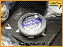 Volvo Logo Amblem Orjinal Jant Göbeği  Göbek Kapak Seti
