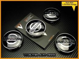 Nissan Logo Amblem Jant Göbeği Göbek Kapak Seti