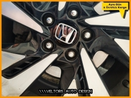 Honda Jant Göbeği  Göbek Kapak Seti