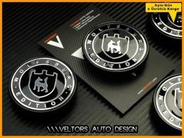 VW Wolfsburg Edition Logo Amblem Jant Göbeği Göbek Kapak Seti