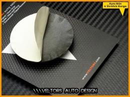 Seat Airbag Direksiyon Logo Amblem