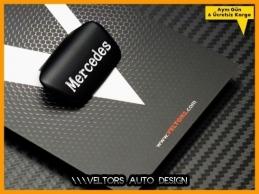 Mercedes Direksiyon Yazı Logo Amblem Eki
