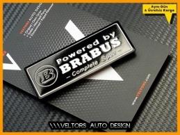 Mercedes BRABUS Plaket Logo Amblem