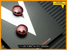 Alfa Romeo Kumanda Anahtar Logo Amblem Seti