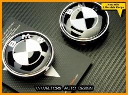 BMW Logo Amblem Jant Göbeği Göbek Kapak Seti