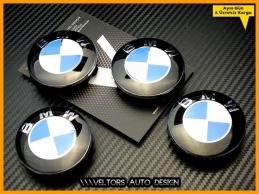 BMW Logo Amblem Yeni Nesil Jant Göbeği Göbek Kapak Seti