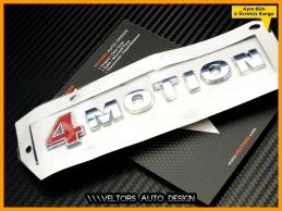 VW  4 Motion 4Motion Bagaj Yazı Logo Amblem