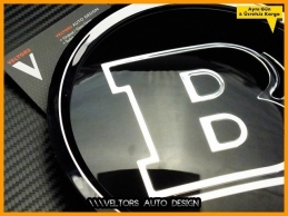 Mercedes BRABUS Ön Izgara Brabus Logo Amblem