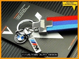 BMW M Technic Logo Amblem Özel BMW M Anahtarlık