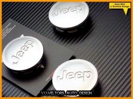 Jeep Logosu Amblemi Jant Göbeği Göbek Kapak Seti