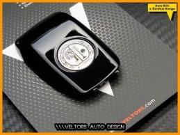 Mercedes AMG Logo Amblem Anahtar Kumanda Kabı