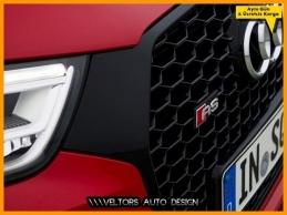 Audi A4 RS4 Ön Izgara Logo Amblem Seti