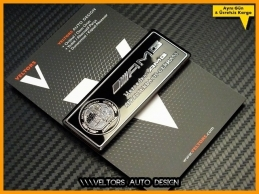 Mercedes AMG Araç Plaket Logo Amblem