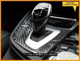 BMW F30 F34 F35 3 ve GT Serisi Carbon Vites Körük Çerçevesi