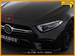 Mercedes CL CLK CLS E R GL GLK ML SL BRABUS Kaput Logo Amblem