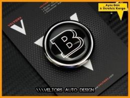 Mercedes Brabus Kaput Yıldız Logo Amblem