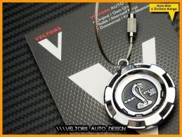 Ford Logo Amblem Özel Seri Shelby Anahtarlık