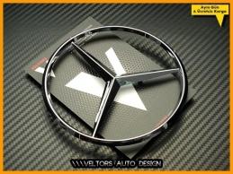 Mercedes W123 ve W126 Kasa Bagaj Yıldız Logo Amblem