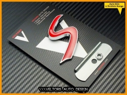 Mini S Ön Izgara Tampon  Logo Amblem