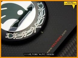 Skoda Airbag Direksiyon Logo Amblem