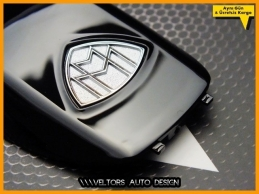 Mercedes MAYBACH Logo Amblem Anahtar Kumanda Kabı Eklenti