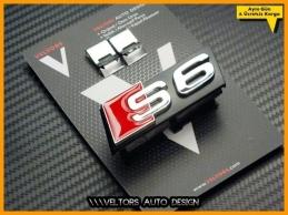 Audi A6 S Line S6 Ön Izgara Logo Amblem Seti