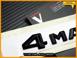 Mercedes 4 Matic / 4Matic Bagaj Yazı Logo Amblem