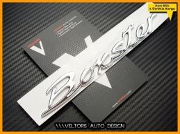 Porsche Boxter Bagaj Yazı Logo Amblem