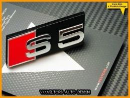 Audi A5 Orjinal S5 Ön Izgara Logo Amblem Seti