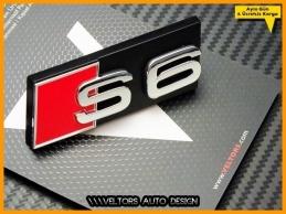 Audi A6 Orjinal S6 Ön Izgara Logo Amblem Seti
