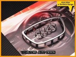 Audi A6 A8 Direksiyon Airbag Logo Amblem