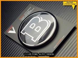 Mercedes Brabus Bagaj Yıldızı Logo Amblem