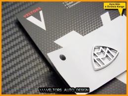 Mercedes Maybach Konsol Kokpit Torpido Araç içi Logo Amblem