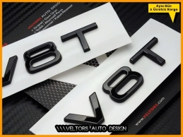Audi V8 / V8 T Piano Black...