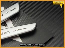 VW Passat Exclusive Logo...