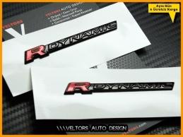 Range Rover R-DYNAMIC / R-Dynamic Logo Amblem Seti