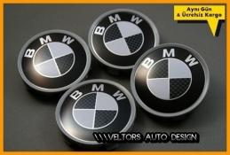 BMW Carbon Jant Göbeği Göbek Kapak Seti