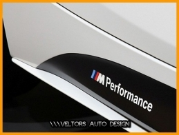 BMW Body M Performance Logo Amblem Seti