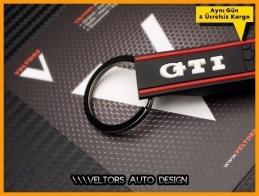 VW Orjinal Gti Logo Amblem Gti Anahtarlık