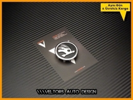 Skoda Orjinal Airbag Direksiyon Logo Amblem