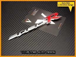Honda Spec R Logo Amblem