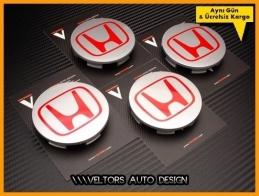 Honda Orjinal Jant Göbeği Göbek Kapak Seti