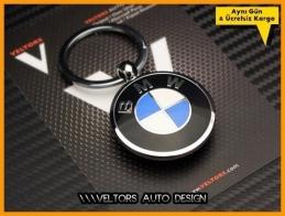 BMW Logo Amblem Özel Krom BMW Anahtarlık