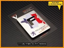 Peugeot France Europe Plaket Logo Amblem