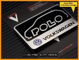 VW Polo Araç Plaket Logo Amblem