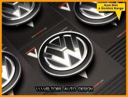 VW Yeni Nesil Jant Göbeği Göbek Seti