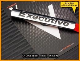 VW Executive Bagaj Logo Amblem