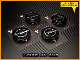 Opel Logo Amblem Jant Göbeği  Göbek Kapak Seti