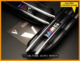 BMW E60 Serisi M5 Yan Çamurluk Izgara Seti